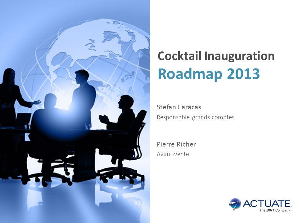 Présentation Finance active – Décideo Merci Stefan Caracas Responsable grands comptes Pierre Richer Avant-vente Cocktail Inauguration Roadmap 2013