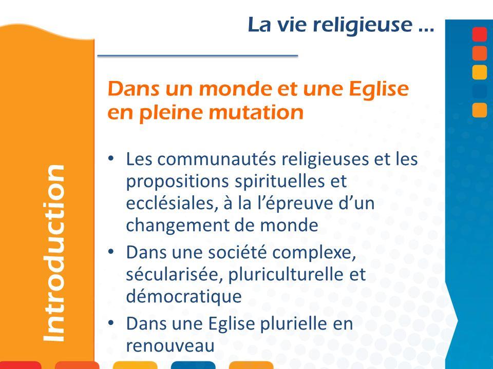 …dans le souffle de Vatican II et de la nouvelle évangélisation III – Réflexions ecclésiologiques Vers une vie religieuse 2.0…