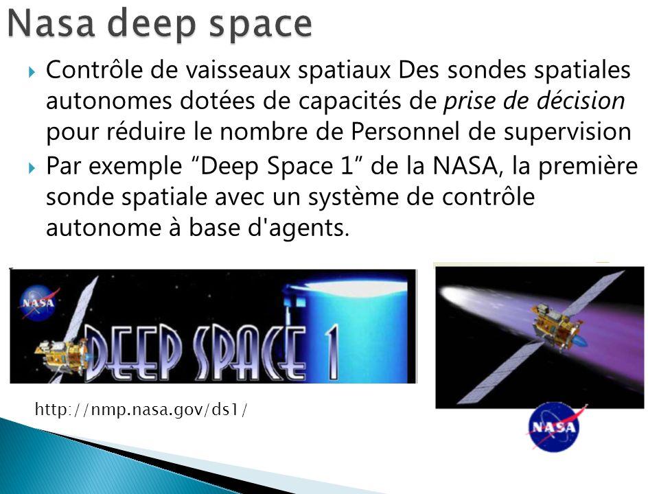 Contrôle de vaisseaux spatiaux Des sondes spatiales autonomes dotées de capacités de prise de décision pour réduire le nombre de Personnel de supervis