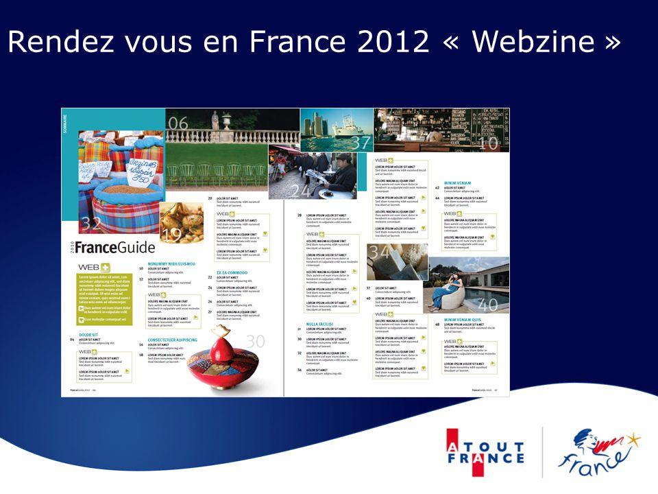 Rendez vous en France 2012 « Webzine »