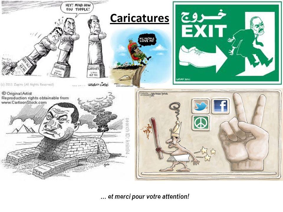 Caricatures … et merci pour votre attention!