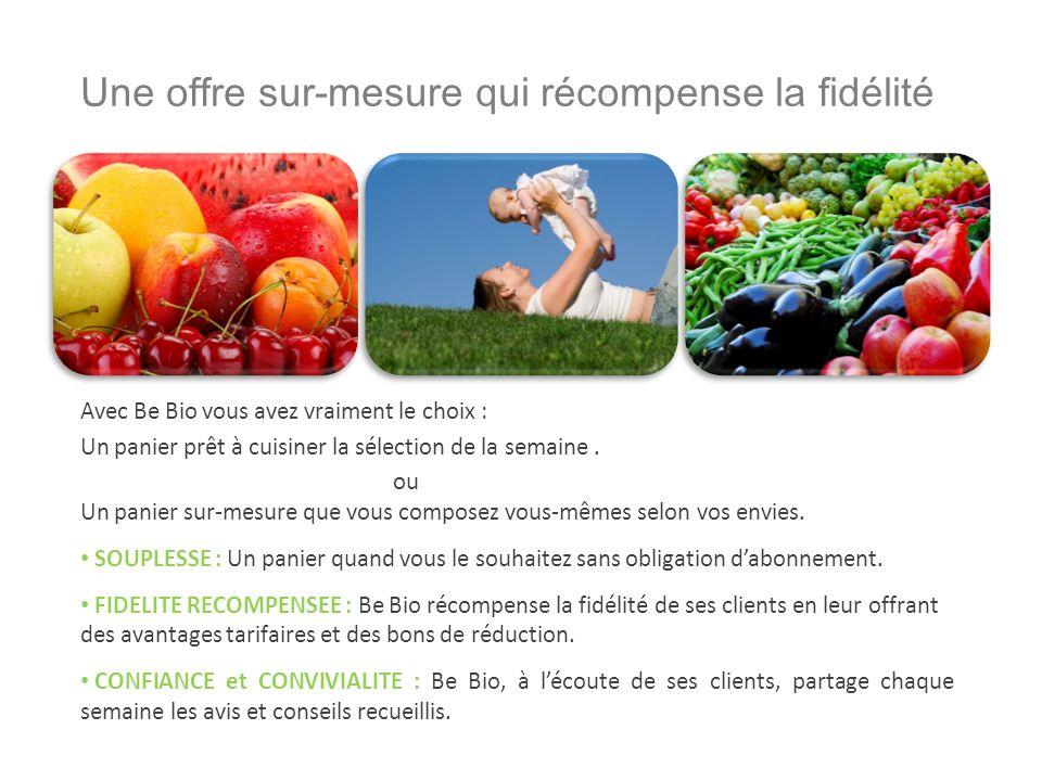 Nos fruits et légumes de saison