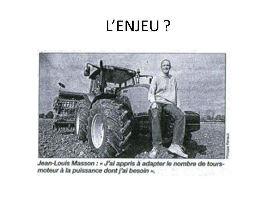 LENJEU ?