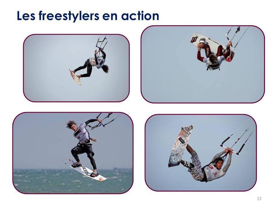 13 Les freestylers en action