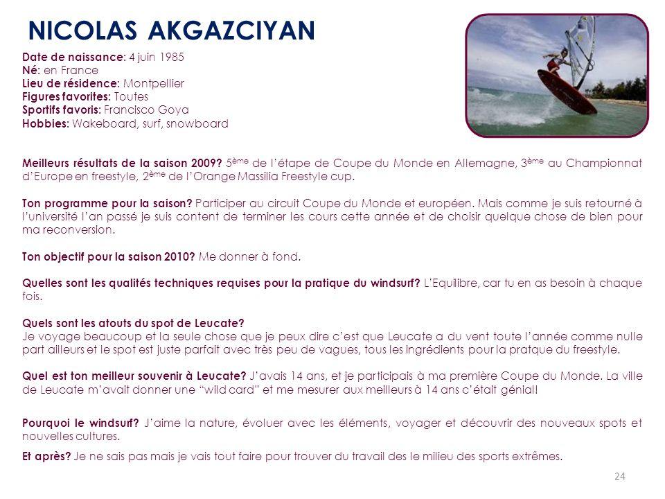 24 Date de naissance: 4 juin 1985 Né: en France Lieu de résidence: Montpellier Figures favorites: Toutes Sportifs favoris: Francisco Goya Hobbies: Wak
