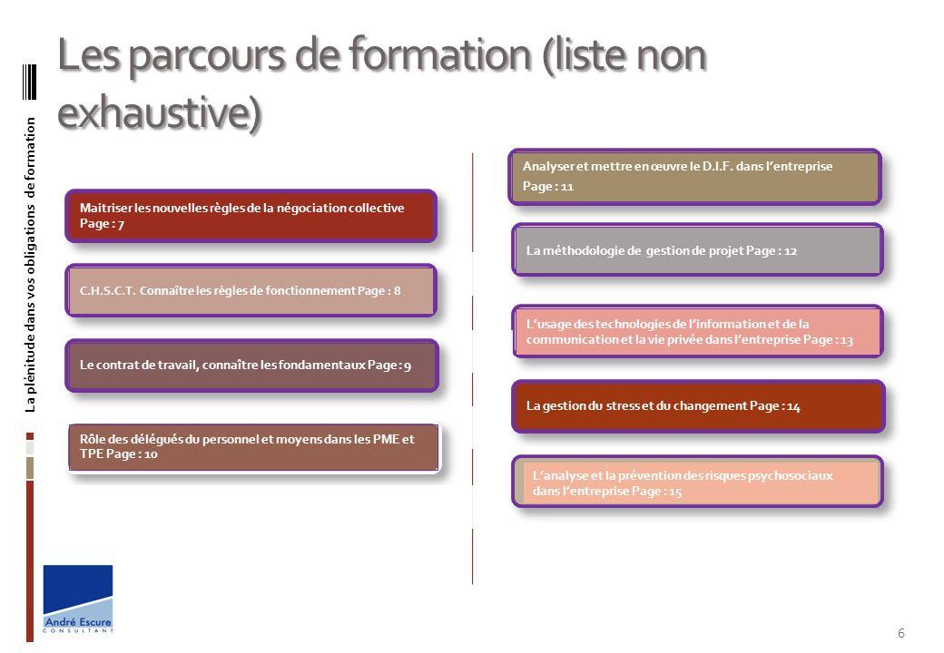 OBJECTIFS Répondre aux nouvelles exigences en matière de négociation et de signature daccord dentreprise suite à la loi du 20/08/2008.