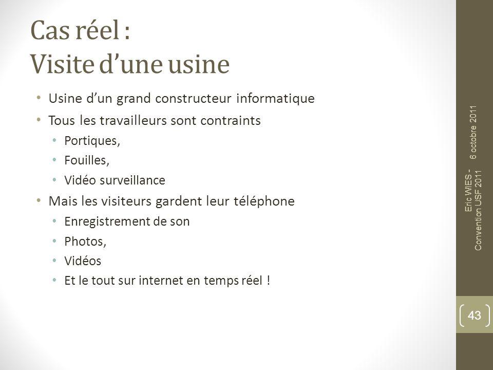 Cas réel : Vie dentreprise / privée Téléphone dentreprise Ligne dentreprise Mais terminal personnel .