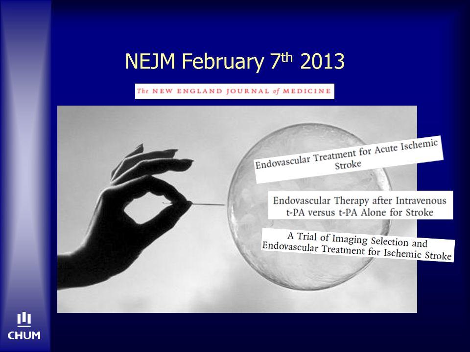 NEJM February 7 th 2013