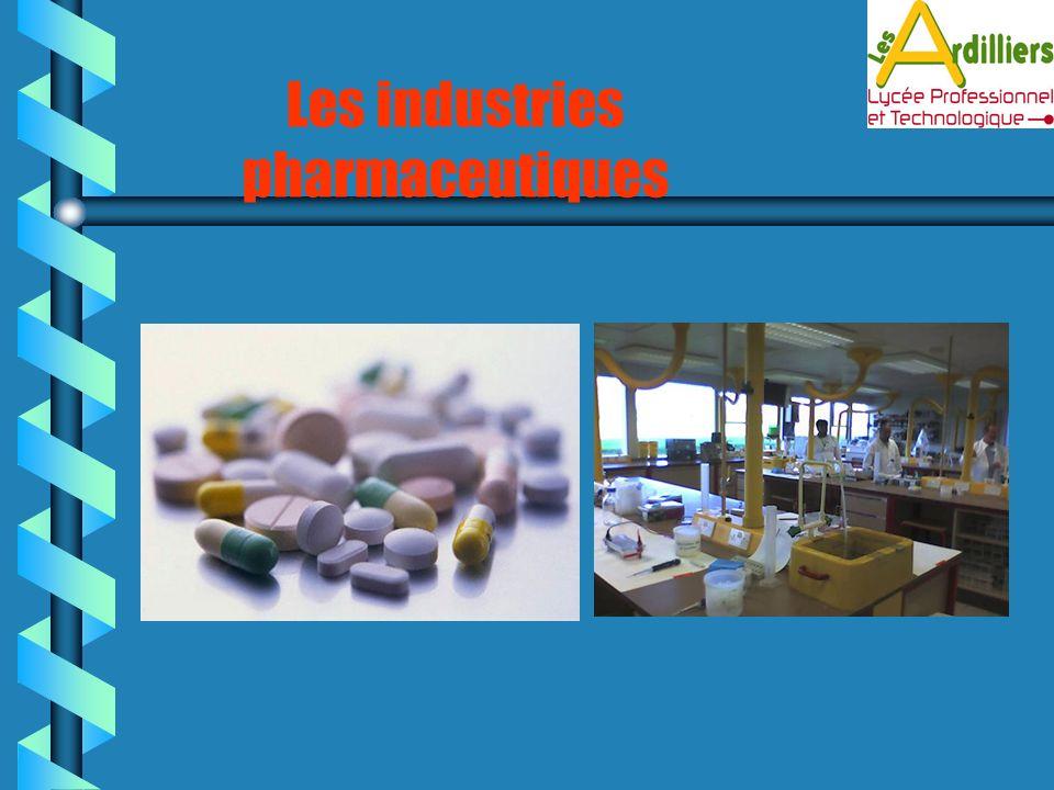 Les industries pharmaceutiques