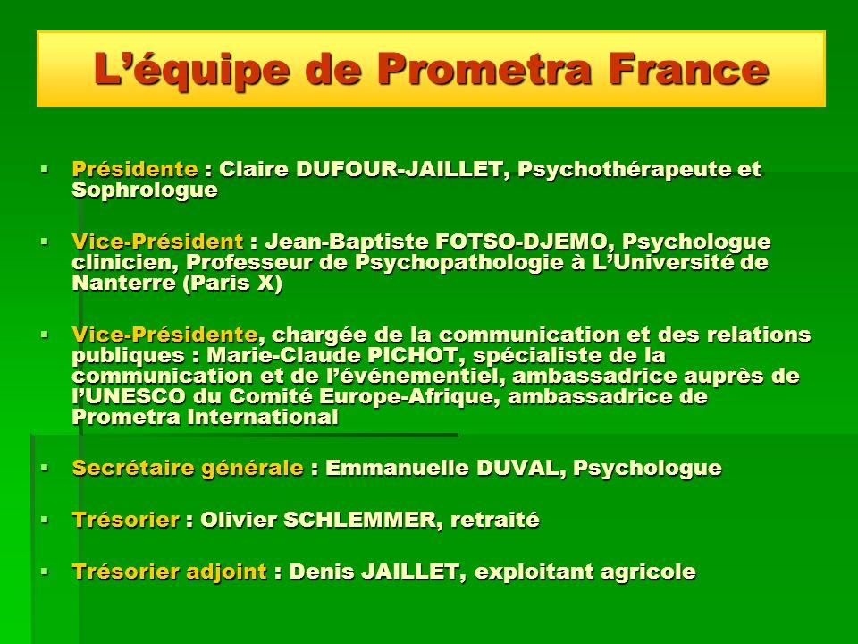 Présidente : Claire DUFOUR-JAILLET, Psychothérapeute et Sophrologue Présidente : Claire DUFOUR-JAILLET, Psychothérapeute et Sophrologue Vice-Président