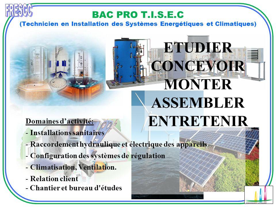 Domaines dactivité: - Installations sanitaires - Raccordement hydraulique et électrique des appareils - Configuration des systèmes de régulation - Cli