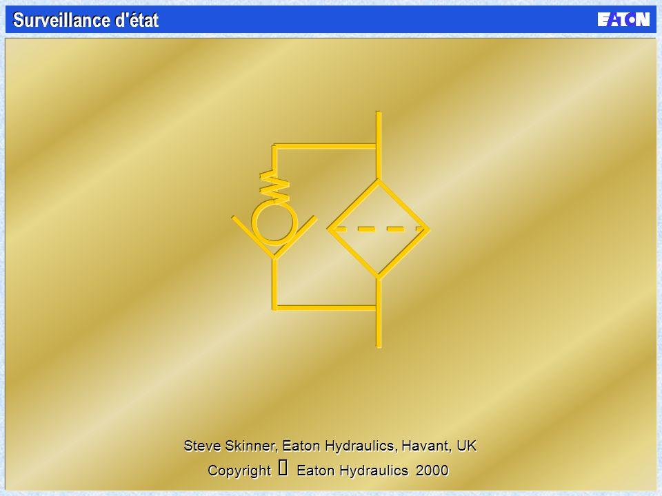 Surveillance d état Copyright Eaton Hydraulics 2000 Steve Skinner, Eaton Hydraulics, Havant, UK