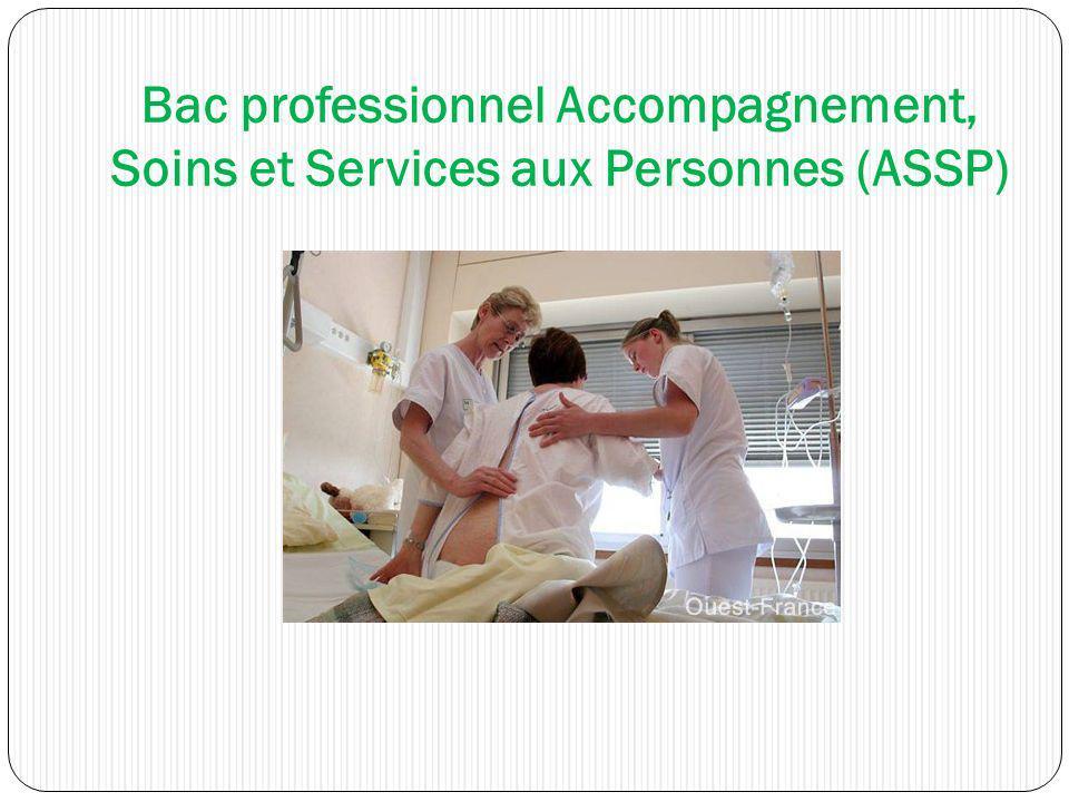 Bac professionnel Accompagnement, Soins et Services aux Personnes (ASSP)