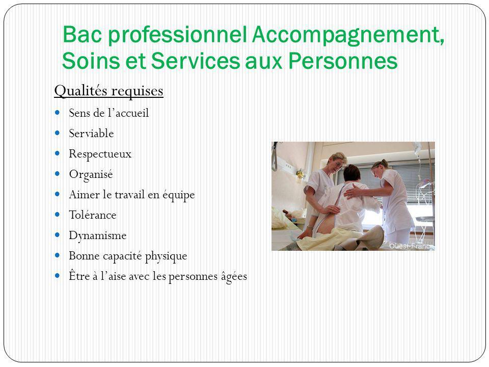 Qualités requises Sens de laccueil Serviable Respectueux Organisé Aimer le travail en équipe Tolérance Dynamisme Bonne capacité physique Être à laise