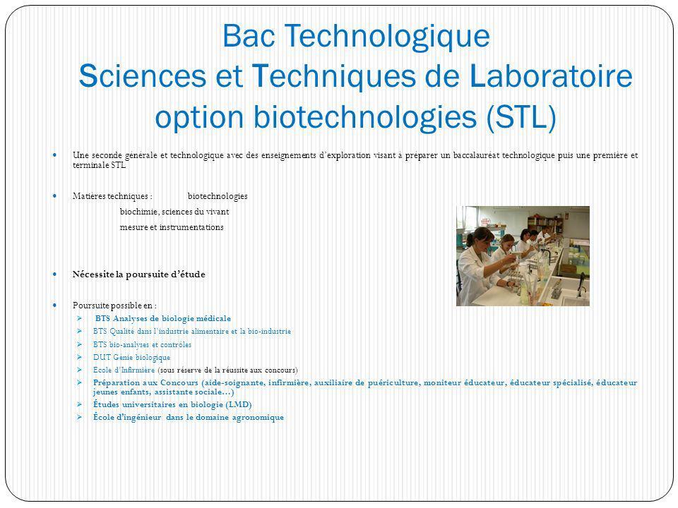 Une seconde générale et technologique avec des enseignements dexploration visant à préparer un baccalauréat technologique puis une première et termina
