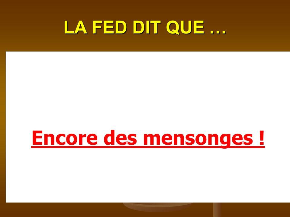 LA FED DIT QUE … EDF se rattrape, pour ne pas perdre dargent, sur votre facture sous forme dune taxe de 5% appelée CSPE (contribution au service publi