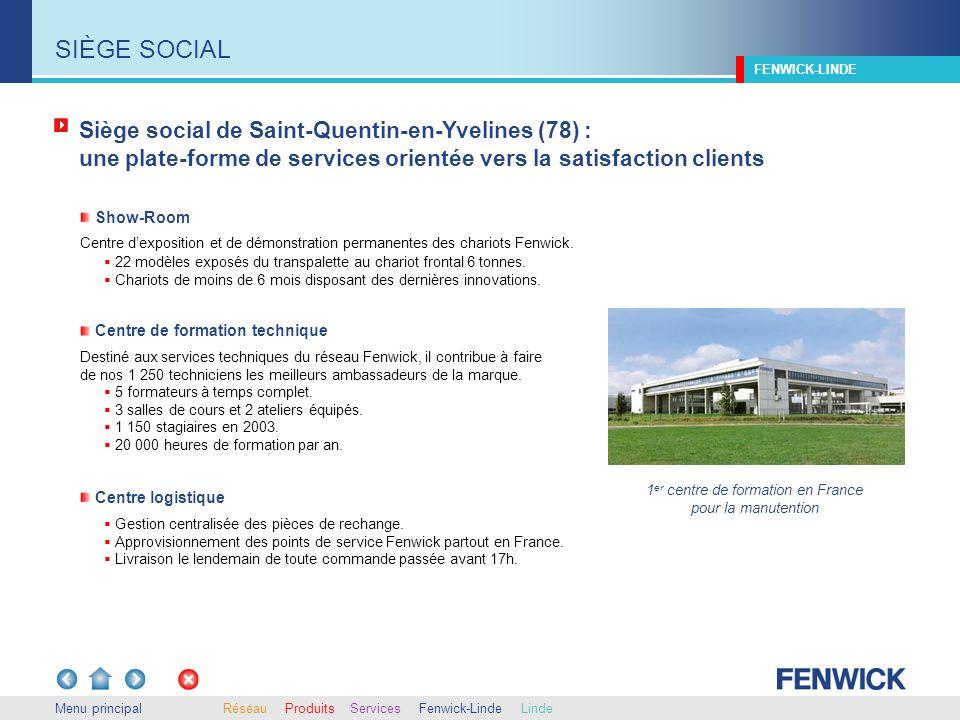 Siège social de Saint-Quentin-en-Yvelines (78) : une plate-forme de services orientée vers la satisfaction clients Gestion centralisée des pièces de r