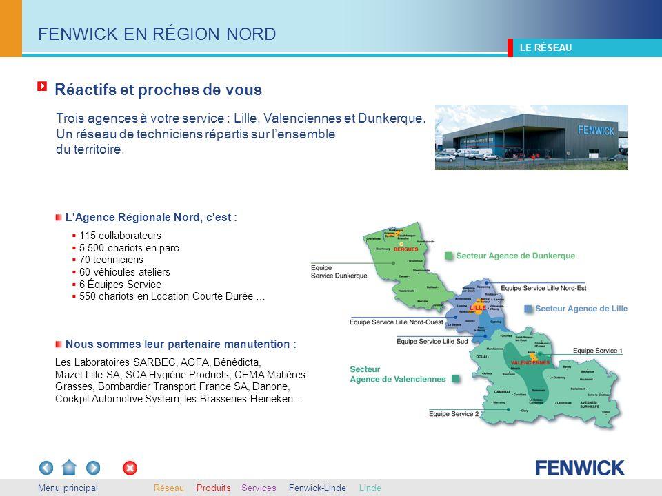 Trois agences à votre service : Lille, Valenciennes et Dunkerque. Un réseau de techniciens répartis sur lensemble du territoire. 115 collaborateurs 5