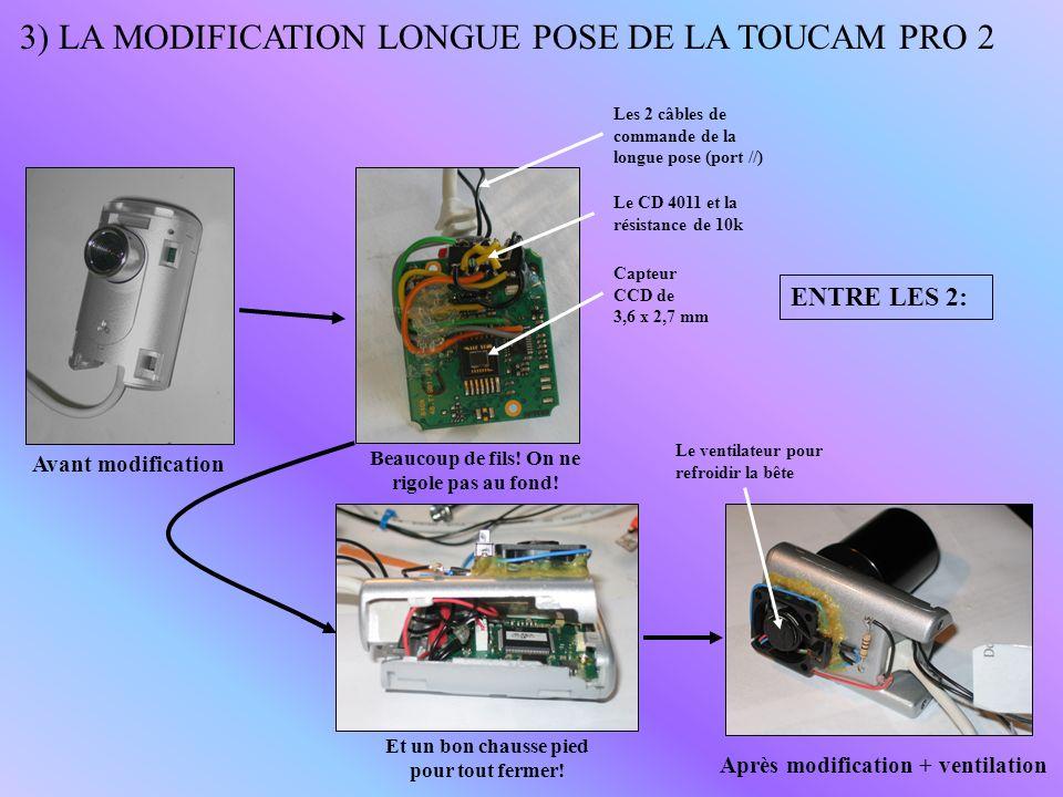 4) ETAPES DUNE SOIREE DACQUISITION WEBCAM 1 - Installation de la monture, du tube et mise en station (à soigner) 2 - Rechercher lobjet (lumineux pour commencer: M42) avec son tube et le centrer finement dans son oculaire (oculaire réticulé, GoTo) 3 - Raccorder lensemble des éléments électroniques de la chaîne dacquisition 4 - Lancer son logiciel dacquisition préféré: AstroSnap, QCFocus, K3CCDTools, Desire… 5 - Faire la mise au point et ajuster le centrage de lobjet à photographier Webcam LP Câble USB origine Ordinateur + Logiciel Câble commande longue pose Adapteur spécial webcam 31,75mm Port // Secteur éventuellement Bague allonge PHOTONS Lunette ou télescope 6 - Programmer les poses des images brutes (durée fonction du suivi, gain fonction de la luminosité de lobjet) et vérifier sur lécran que lobjet ne séchappe pas pendant les poses 7 - Obstruer louverture du tube et faire les darks au minimum + flat et offset idéalement
