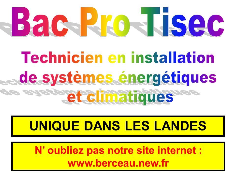 N oubliez pas notre site internet : www.berceau.new.fr UNIQUE DANS LES LANDES