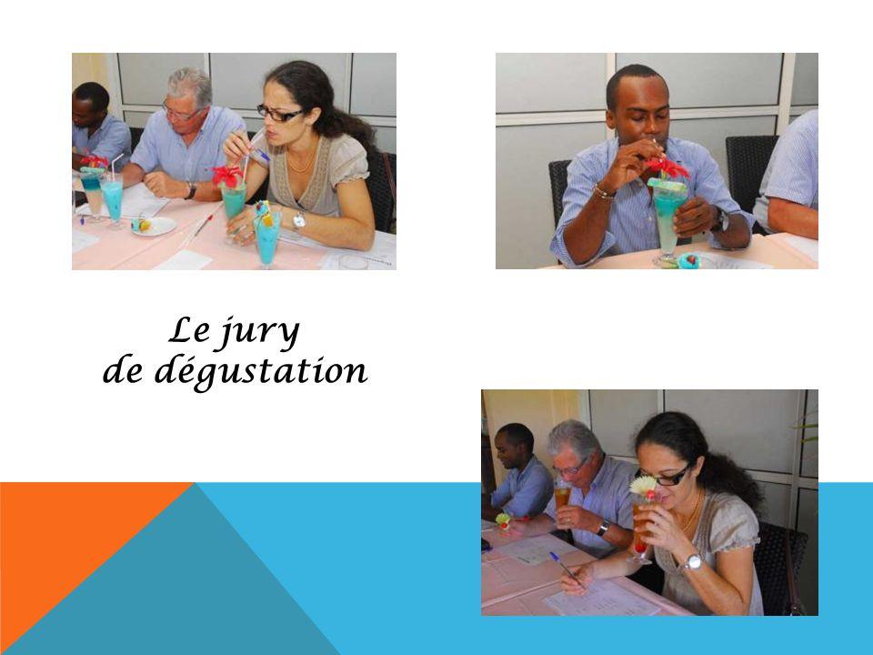 Le jury de dégustation