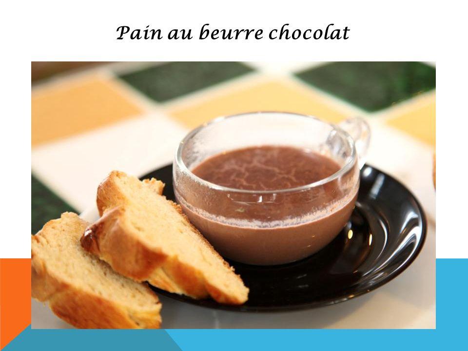 Pain au beurre chocolat