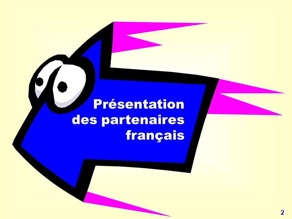 23 ZOOM sur le projet français Les réalisations en cours à destination des formateurs