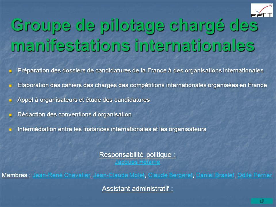 Responsabilité politique : Jacques Hélaine Membres : Jean-René Chevalier, Jean-Claude Molet, Claude Bergeret, Daniel Braslet, Odile PerrierJean-René C