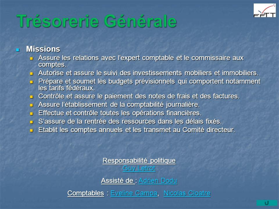 Missions Missions Assure les relations avec lexpert comptable et le commissaire aux comptes.