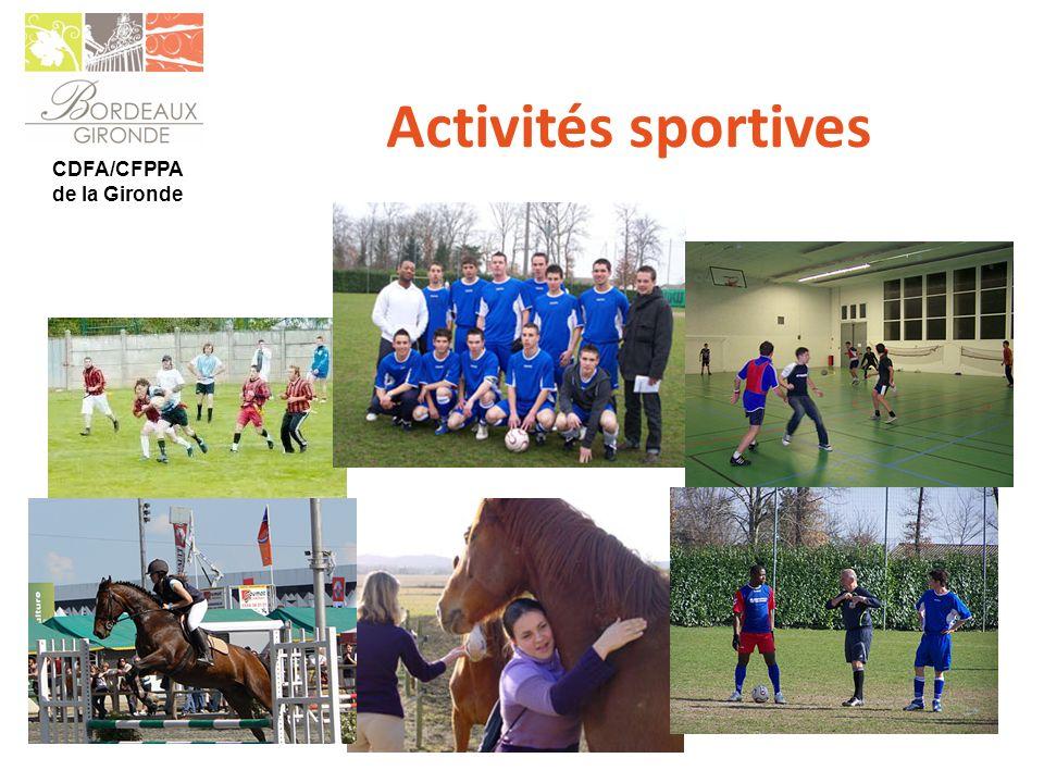 CDFA/CFPPA de la Gironde Activités sportives