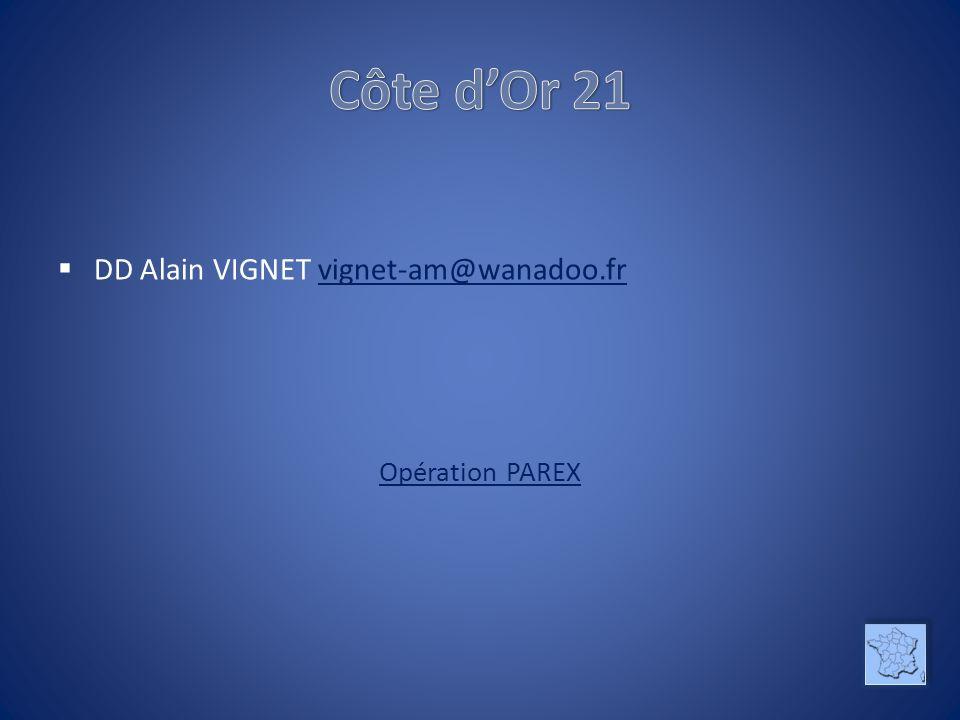 DD Alain VIGNET vignet-am@wanadoo.frvignet-am@wanadoo.fr Opération PAREX