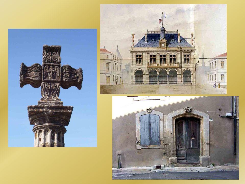 De nombreux édifices élevés à la fin du XIXe siècle et au début du XXe siècle sont caractérisés par des encadrements mêlant la brique et la pierre.