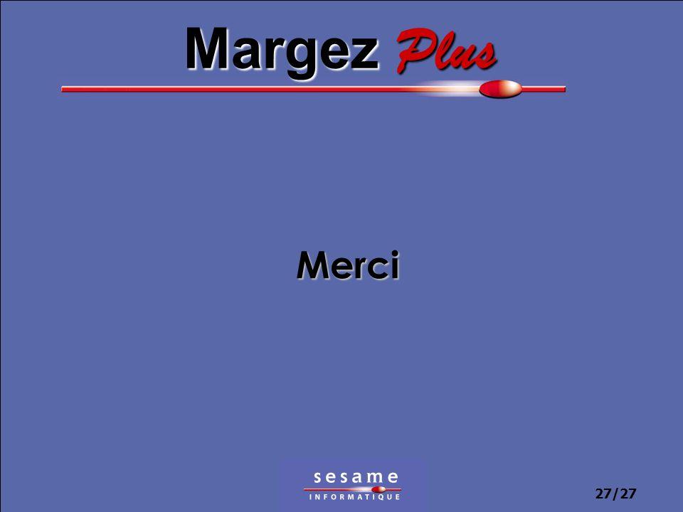 27/27 Merci Margez Plus