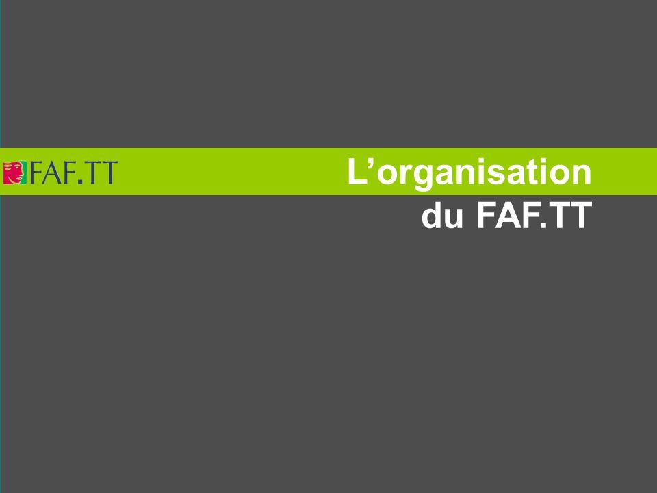 Lorganisation du FAF.TT