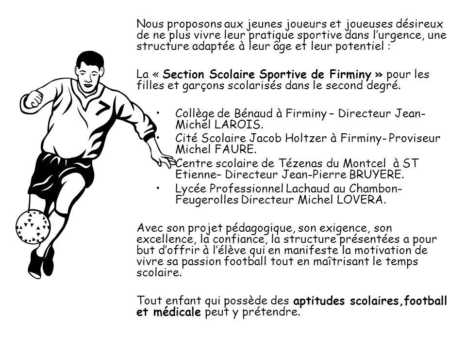 Nous proposons aux jeunes joueurs et joueuses désireux de ne plus vivre leur pratique sportive dans lurgence, une structure adaptée à leur âge et leur