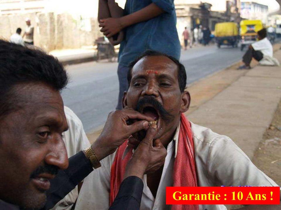 Garantie : 10 Ans !