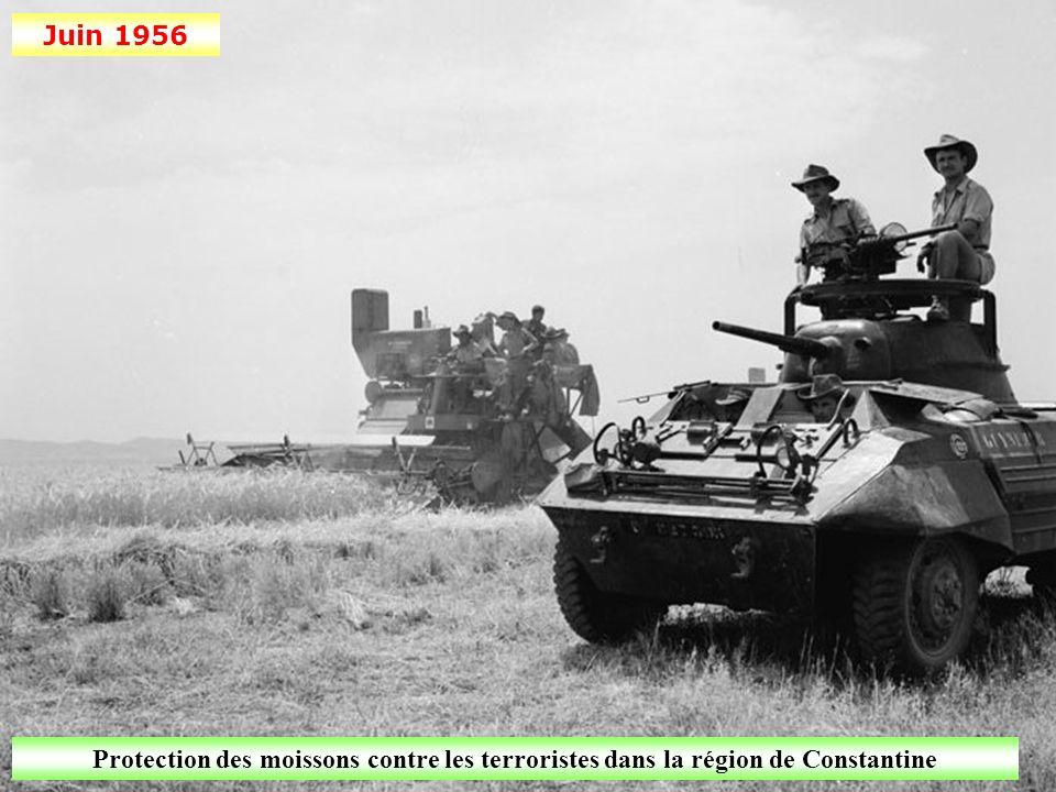 Mars 1958 Des soldats du 2 e Régiment de Parachutistes Coloniaux combattent des Fellaghas