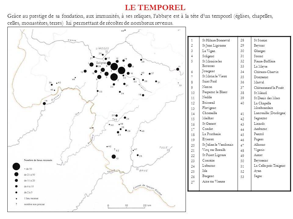 LE TEMPOREL 1 2 3 4 5 6 7 8 9 10 11 12 13 14 15 16 17 18 19 20 21 22 23 24 25 26 27 St Hilaire Bonneval St Jean Ligourne Le Vigen Solignac St Maurice