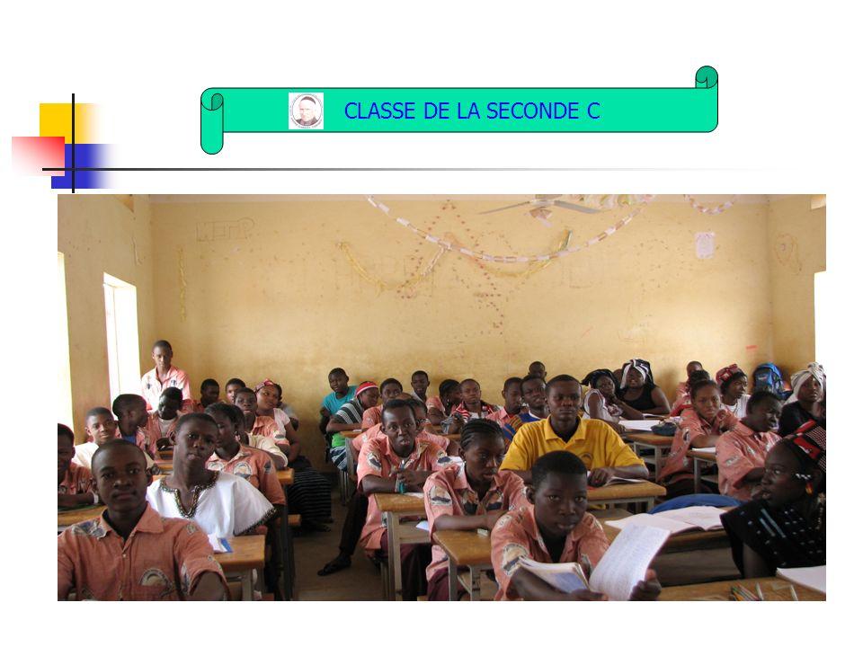 CLASSE DE LA SECONDE C