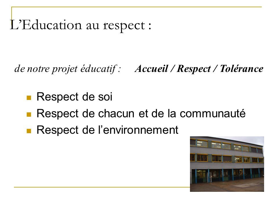 La coéducation : Parents Enseignants PP Direction Mme SIMONESCHI Mme ERMEL CPE M. Garelli Elèves Secrétariat