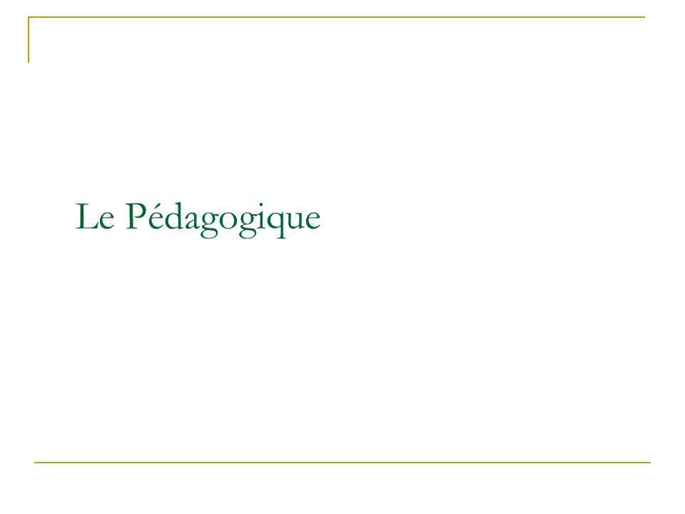 Le Pédagogique