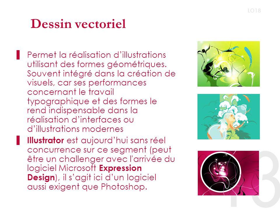 Animation vectorielle A leurs début ces logiciels étaient destinés à lanimation.