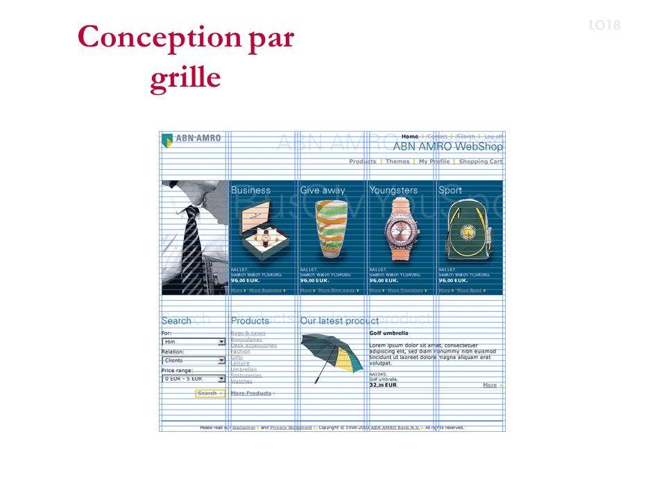 Conception par grille LO18 http://cameronmoll.com/img/pics/960grid.png