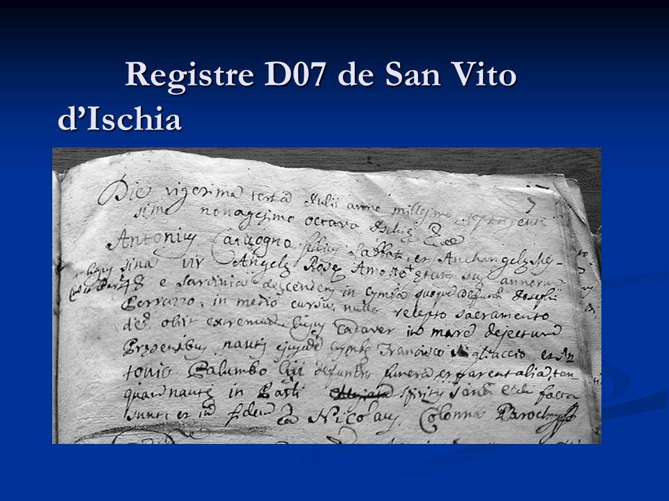 Registre D07 de San Vito dIschia