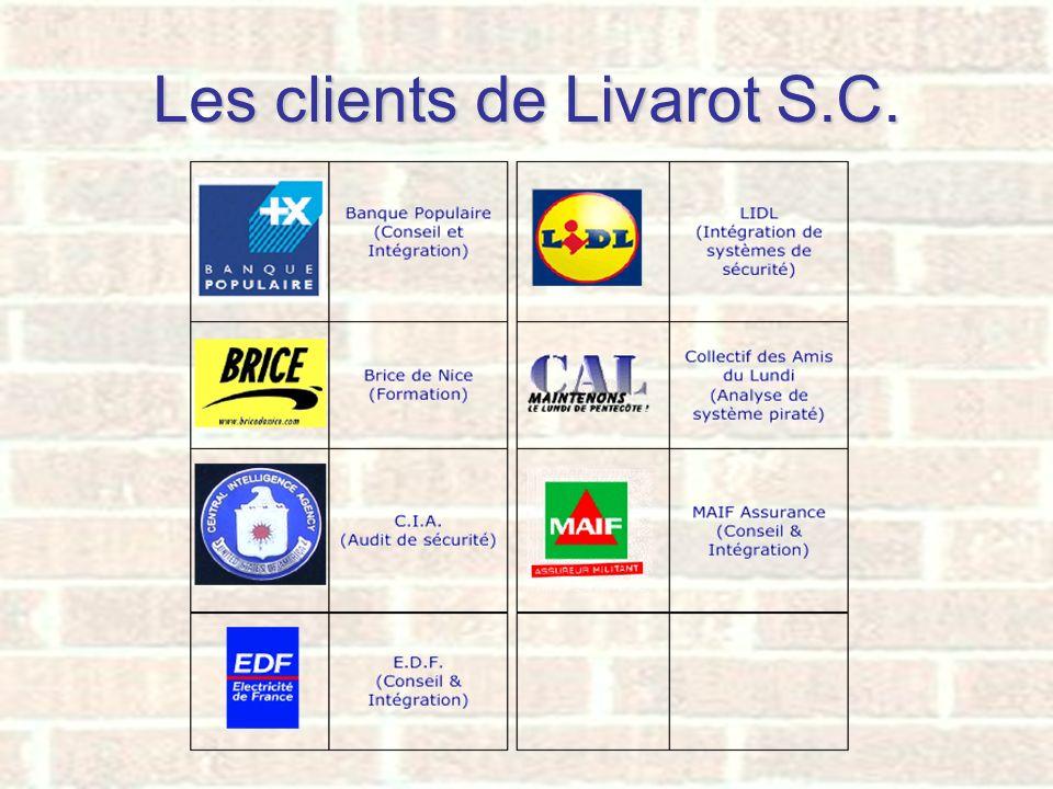 Les clients de Livarot S.C.
