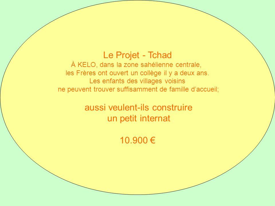 Le Projet - Tchad À KELO, dans la zone sahélienne centrale, les Frères ont ouvert un collège il y a deux ans. Les enfants des villages voisins ne peuv