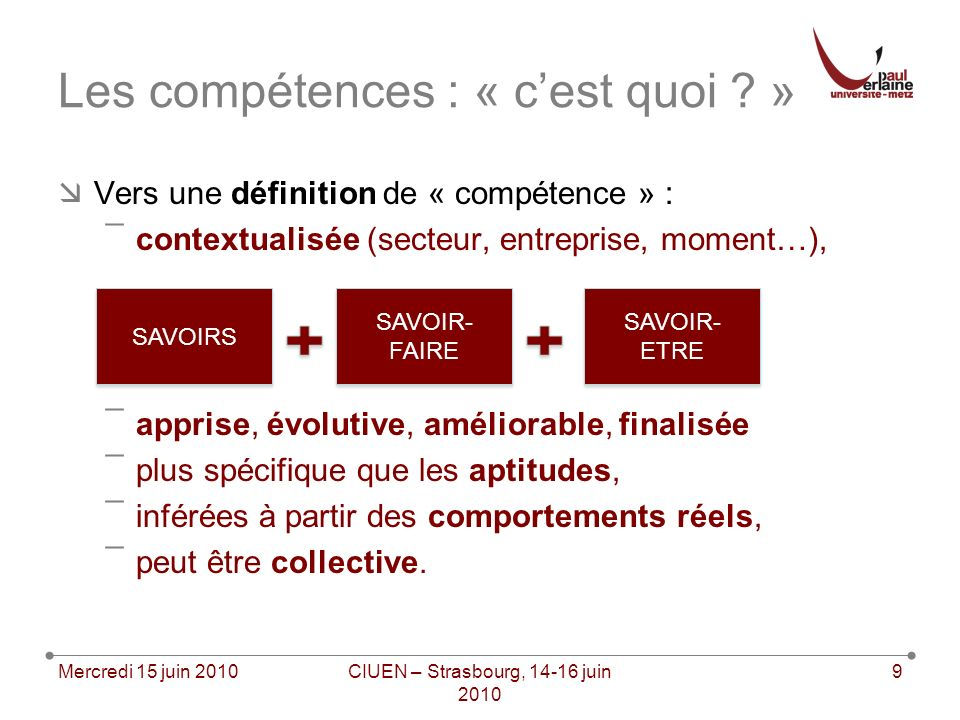 Perception des compétences par les « administrateurs »: ¯« At least half of their freshmen arrive with their own computers and proficient at using Windows, word-processing software, the Internet, and electronic mail.