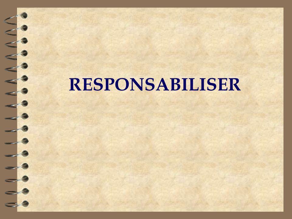 RESPONSABILISER