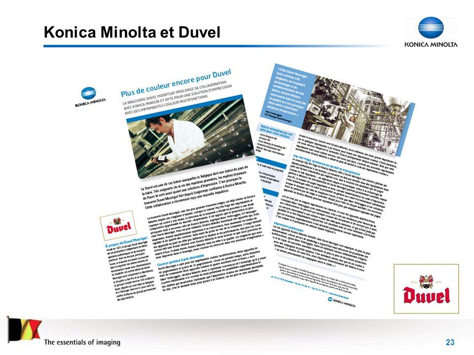 23 Konica Minolta et Duvel