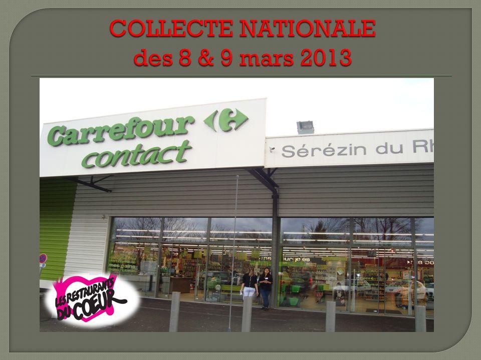 Après 4 semaines, les stagiaires ont obtenu : Lengagement de dons réguliers de nourriture de 3 magasins (supermarchés de St Fons, Feyzin et Sérézin) U